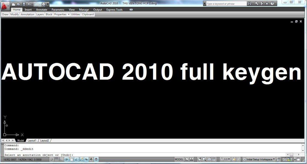 [Download] Tải phần mềm Autocad 2010 32 64bit Full Crack miễn phí