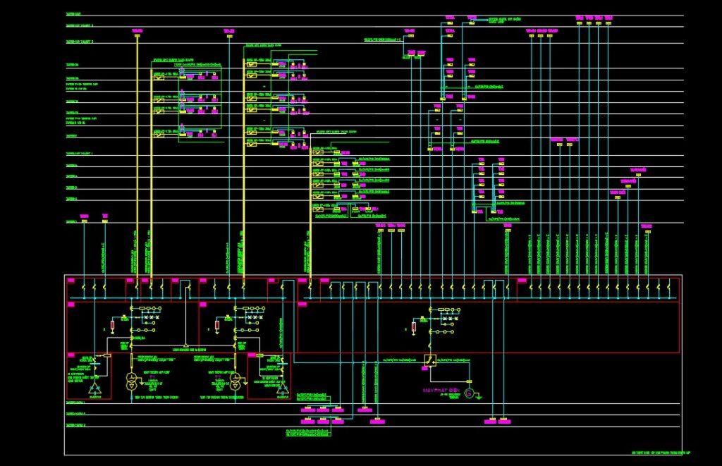Thư viện Autocad ngành điện nước (M&E) tổng hợp đầy đủ