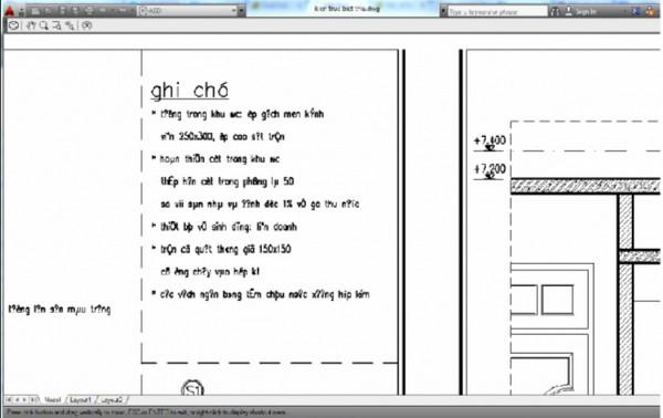 Autocad bị lỗi font khiến người dùng không đọc được nội dung bản vẽ