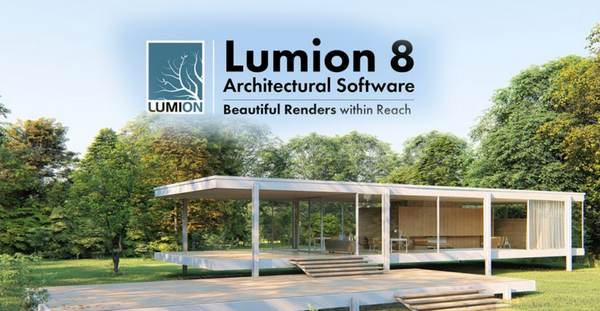 Giao diện hình ảnh Lumion 8
