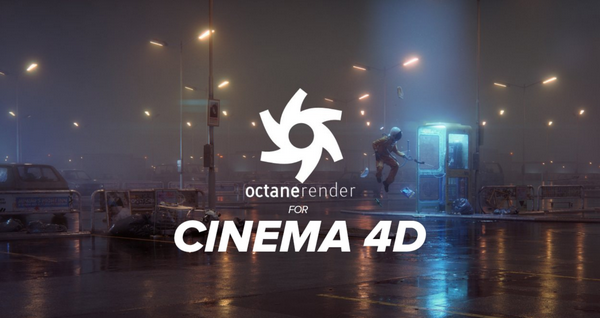 Giao diện phần mềm Octane Render