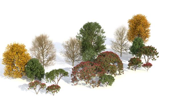 Thư viện cây laubwerk plants for sketchup