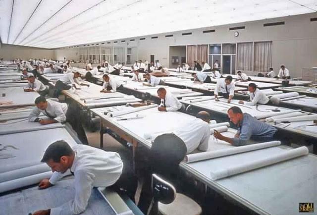 Khi chưa có AutoCAD, các nhà thiết kế đã phải làm việc như thế nào?