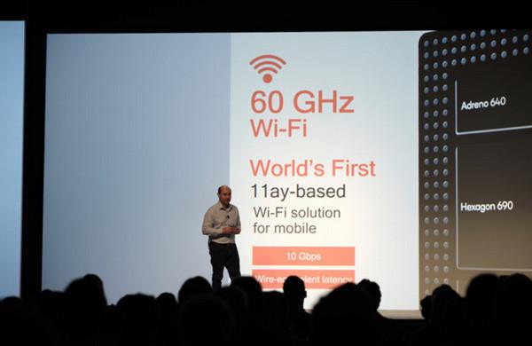 Snapdragon 855 cũng lần đầu đưa vào chuẩn kết nối Wi-Fi 11ay