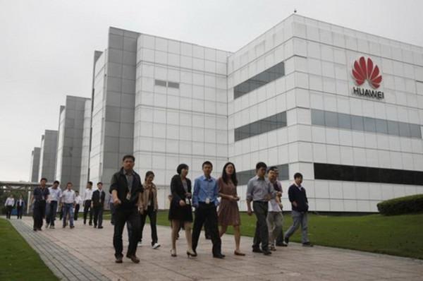 Trụ sở Huawei tại Trung Quốc