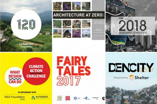 Các bạn sinh viên kiến trúc nên tham gia 7 cuộc thi này