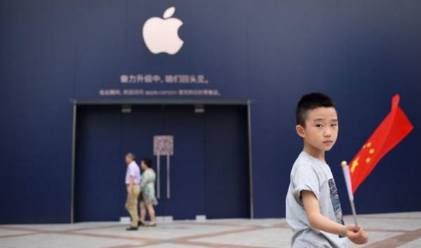Thị trường Trung Quốc đang chiếm tới 18% thị phần lượng máy tiêu thụ của Apple trên thế giới