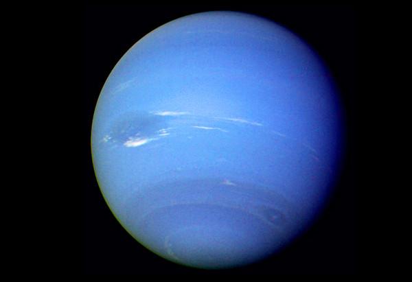 Ảnh chụp sao Hải Vương từ tàu Voyager 2