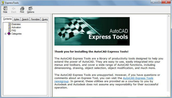 Download Express Tools Autocad 2007